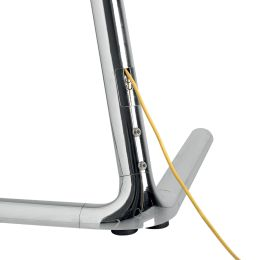 LogiLink TV-Ständer, für 124,46 - 177,80 cm, V-Fuß, chrome