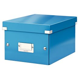 LEITZ Ablagebox Click & Store WOW, DIN A5, blau