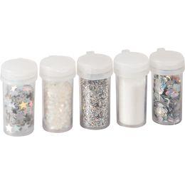 KNORR prandell Glitter-Mix / Glitterpulver silber