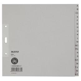 LEITZ Tauenpapier-Register, A-Z, A4, halbe Höhe, 20-teilig