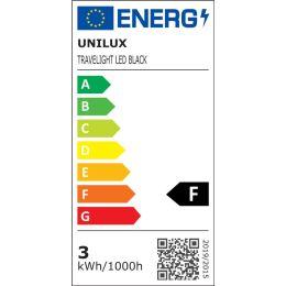 UNiLUX LED-Klemmleuchte/Notebookleuchte TRAVELIGHT, schwarz