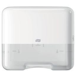 TORK Mini Falthandtuch-Spender, Kunststoff, weiß