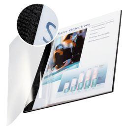 LEITZ Buchbindemappe impressBind, A4, 7 mm, schwarz, Soft