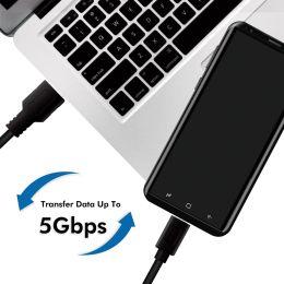LogiLink USB 3.2 Kabel, USB-A - USB-C Stecker, 2,0 m, weiß