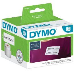 DYMO Terminvereinbarungskarten / Namensschilder, 89 x 51 mm