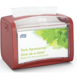 TORK Xpressnap Servietten-Tischspender, rot