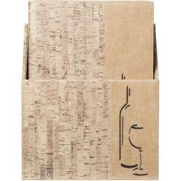 Securit Weinkarte DESIGN CORK, A4, 10er Box