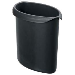 HAN Abfall-Einsatz für flammhemmende Papierkörbe, schwarz