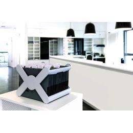HAN Hängeregistratur-Korb X-CROSS, schwarz