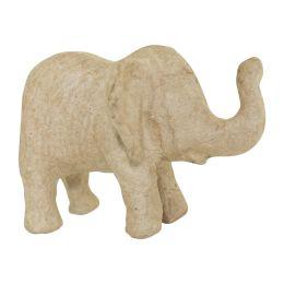 décopatch Pappmaché-Figur Elefant, 70 mm