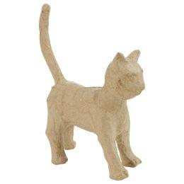 décopatch Pappmaché-Figur Katze, 130 mm