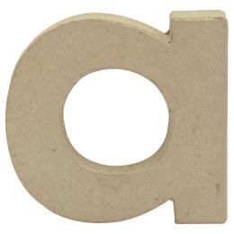 décopatch 3D-Buchstabe a, Pappmaché, 90 x 85 mm