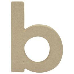 décopatch 3D-Buchstabe b, Pappmaché, 85 x 120 mm