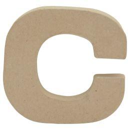 décopatch 3D-Buchstabe c, Pappmaché, 85 x 85 mm