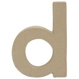 décopatch 3D-Buchstabe d, Pappmaché, 85 x 120 mm