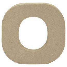 décopatch 3D-Buchstabe o, Pappmaché, 90 x 85 mm