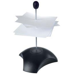 HAN Zettelspieß DELTA, Polystyrol, schwarz