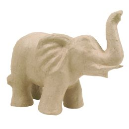décopatch Pappmaché-Figur Elefant 2, 170 mm