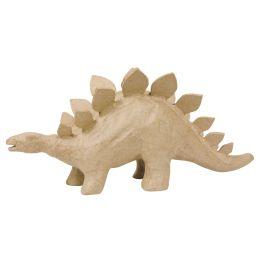décopatch Pappmaché-Figur Stegosaurus, 150 mm