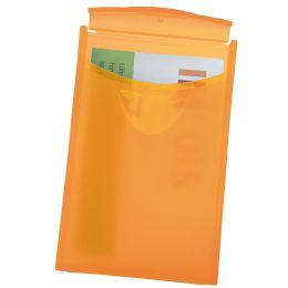 HAN Visitenkarten-Etui COGNITO, orange-transluzent