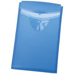 HAN Visitenkarten-Etui COGNITO, blau-transluzent