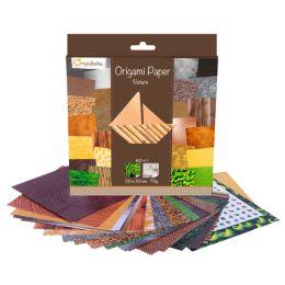 avenue mandarine Origami-Faltblätter Papier Natur
