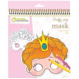 avenue mandarine Maskenmalbuch Girl