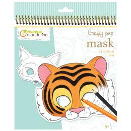 avenue mandarine Maskenmalbuch Tiere