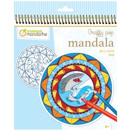 avenue mandarine Malbuch Graffy Pop Mandala, Boy