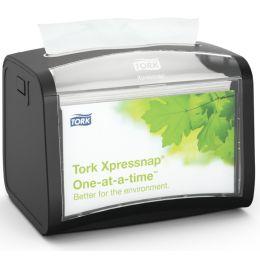 TORK Xpressnap Servietten-Tischspender, schwarz