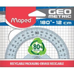 Maped Halbkreis-Winkelmesser Geometric 180 Grad, 120 mm