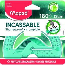 Maped Halbkreis-Winkelmesser Flex 180 Grad, 120 mm