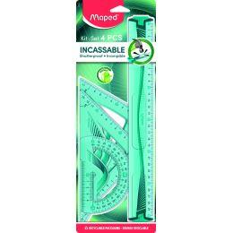 Maped Geometrie-Set Maxi Flex, bruchfest, 4-teilig