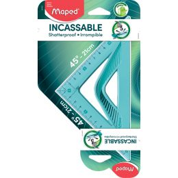 Maped Zeichendreieck Flex 45 Grad, Hypotenuse: 210 mm