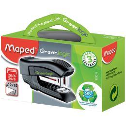 Maped Heftgerät Mini Standard Greenlogic, schwarz