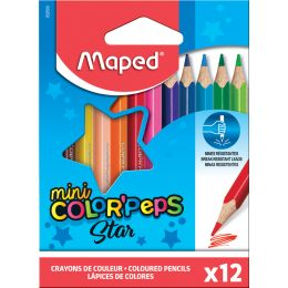 Maped Dreikant-Buntstift COLORPEPS Mini, 12er Kartonetui