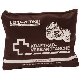 LEINA Kraftrad-Verbandtasche, Inhalt DIN 13167, schwarz