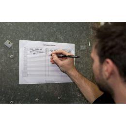tarifold Notizblatthalter KANG, selbsthaftend/wiederablösbar
