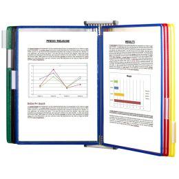 tarifold Wandsichttafelsystem Metall, DIN A4, bestückt