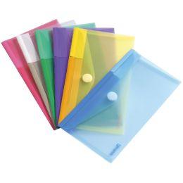 tarifold Dokumententasche, 250 x 135 mm, PP, farbig sortiert