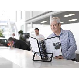 tarifold VEO Tischsichttafelsystem, inkl. 10 Sichttafeln A4