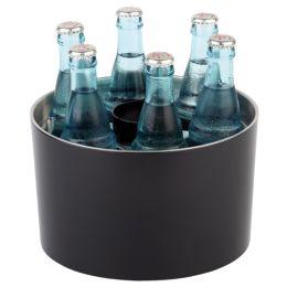 APS Konferenz-Flaschenkühler, silber / schwarz