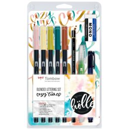 Tombow Blended Lettering-Set Cozy Times, 9-teilig