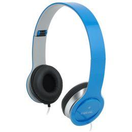 LogiLink Headset High Quality, faltbar, blau