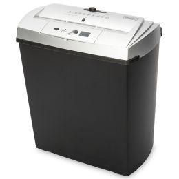 DIGITUS Aktenvernichter S7CD, Streifenschnitt: 7 mm, schwarz