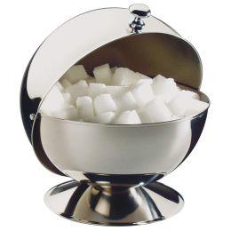 APS Zuckerkugel mit Rolldeckel, aus Edelstahl