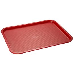 APS Fast Food-Tablett, (B)350 x (T)270 mm, schwarz