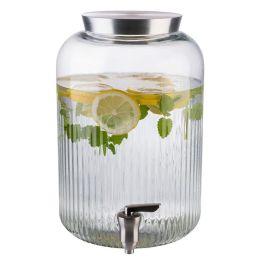 "APS Getr""nkespender, 7 Liter, Glas/Edelstahl"