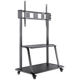 LogiLink TV-/Monitorwagen, für 150 kg, für 152,4 - 266,7 cm