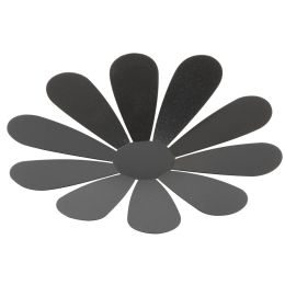 Securit 3D-Wand-Kreidetafel FLOWER, schwarz